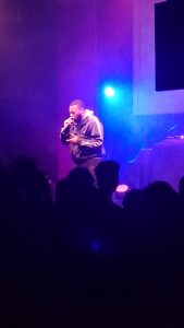 Review: 'Allo Mate Live' with Melvillous
