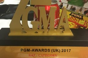 PGM Awards #FMGUK & Anon scoop wins