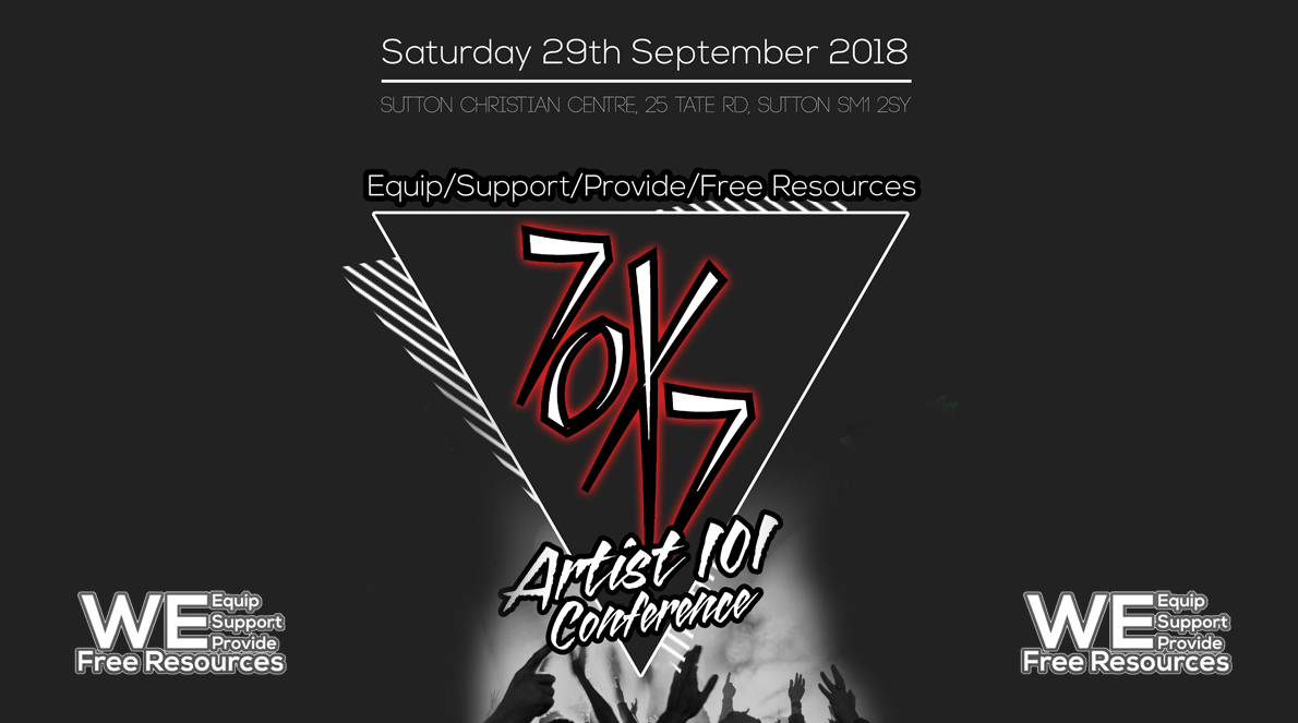 70X7 ARTIST 101 CONFERENCE – EQUIP/SUPPORT/PROVIDE FREE RESOURCES
