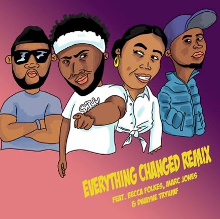 StillShadey Releases Everything Changed Remix featuring Becca Folkes, Marc Jones & Dwayne Tryumf