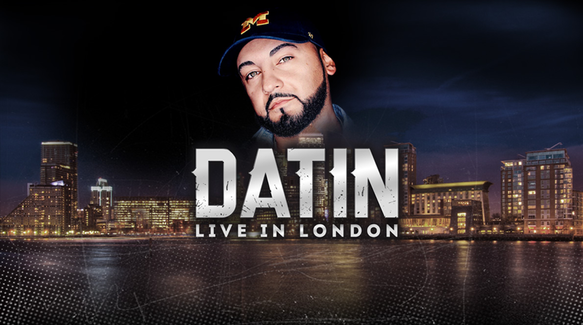 US CHRISTIAN RAP ARTIST DATIN LIVE IN LONDON