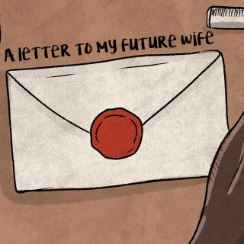 DEE WITNESS WRITES A LETTER TO HIS FUTURE WIFE - LYRIC VISUALS