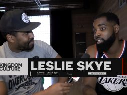 LESLIE SKYE – BEHIND THE SCENES ON FLAME ON VIDEO + FREESTYLE