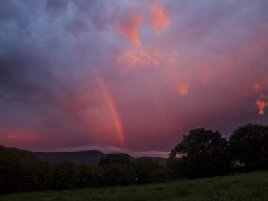 TRUSTING GOD : COVID-19 : LOOK FOR RAINBOWS